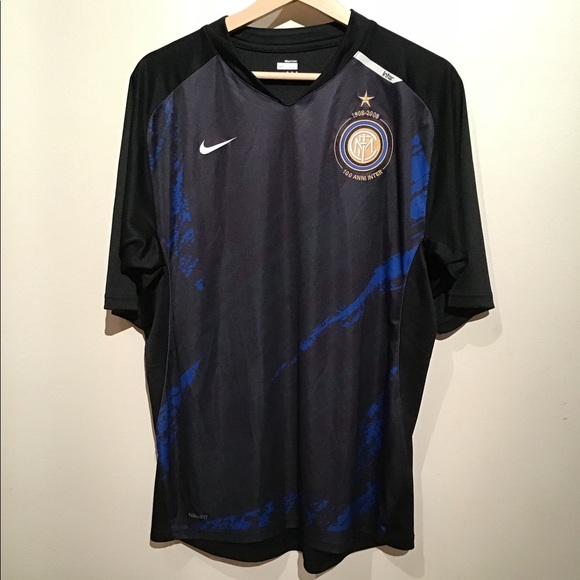 detailed pictures 39170 afce3 Nike Fit Dry 100th Inter Milan Training Top